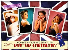 WI Lite Pin Up Calendar 2010 by MyLadyLiesWaiting