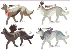 Adoptables 12 by Wuhzzles