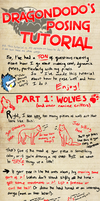 How I do poses tutorial part 1 - wolves by DodoIcons