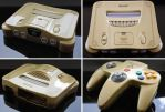 Custom Ocarina of Time themed Nintendo 64 by Zoki64