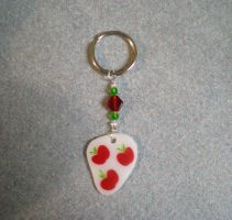 MLP Handmade AppleJack CutieMark Keychain FOR SALE by AmyAnnie14