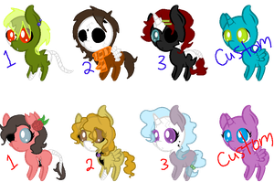 Zombie pony adopts by TwilightLuv10