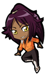 Bleach Chibi Yoruichi by ZantyARZ