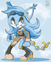 Aires Icarus Sonic Riders outfit by kakyuuspark
