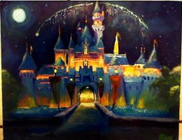 Disneyland [Acyrlic on canvas] by QuantumGinger