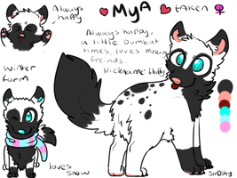 Mya Reference(updated) by P0CKYY