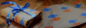 Wrapping paper by populusnigra