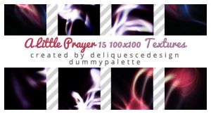 A Little Prayer: 15 Icon Textures by deliquescedesign