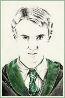 Draco Malfoy by thewholehorizon