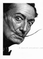 Mr Salvador Dali by Dodos24