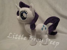 Mlp Filly rarity plush by Little-Broy-Peep