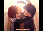 Happy birthday to myself xDDDDD by KurumiErika