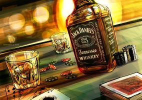 Jack Daniel's -Visual- by skian-winterfyre