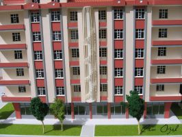 Architectural Scale Model  3 by COZEL