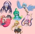 Monster Musume - Chibi girls by mitgard-knight