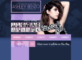 free layout ft. Ashley Benson by mmmystery