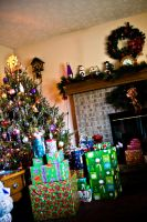 Christmas Morning at Home by Valentine-Photo