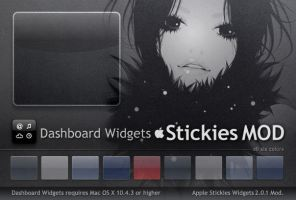Stickies Dashboard Widgets MOD by Gpopper