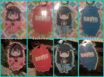 Kill la Kill keychains/charms !! by Tea-Cupz