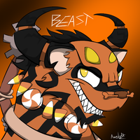 Animal Jam: BEAST by ProfessorLucario9
