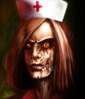 nurse zombie by Zaidizainal