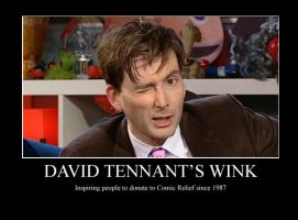 David Tennant's Wink by bananachip33