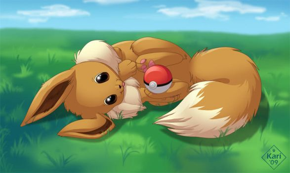 Eevee by dukacia