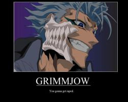Demotivator-Grimmjow by youkaiassassin