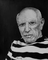 Pablo Picasso by RobMcCullah