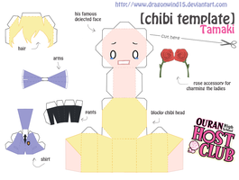 Tamaki Chibi Template by dragonwind15
