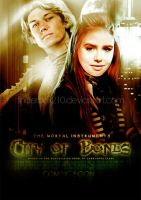 City of Bones - movie poster by tinderbox210