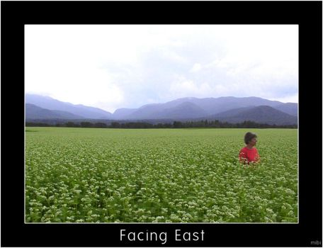 Facing East by mibi