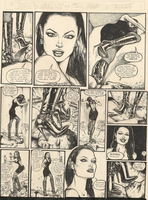 A Human Doormat for the Lovely Angelina Jolie by PovGiantess