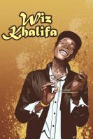 Wiz Khalifa by DJC87