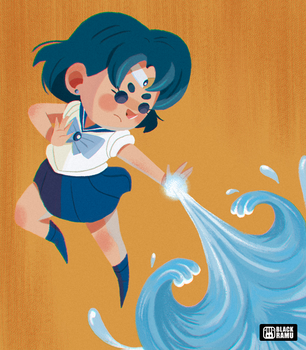 Sailor Mercury by BlackRamu
