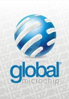 Logo Global Microchip. by vitoraws