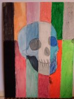 Color Skull by cat-scratchess