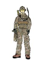101 Airborne (Air Assault) Afghanistan colored by pimphand