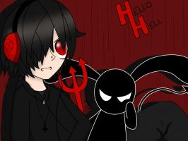 Hello Hell Wallpaper by TheRealTDAGeena
