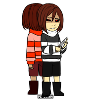 Monofell: Chara by PC-Doodle