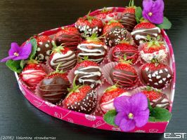Valentine strawberries by PaSt1978
