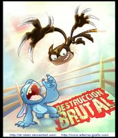Stitch vs elsalto del el tigre by Dr-Stain