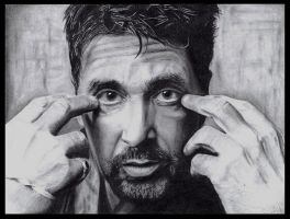 Mr. Al Pacino by AdamWien
