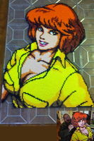 Good lawd, April O'Neil is HUGE by XinMyForehead