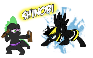 Shinobi by ertyez