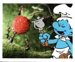 Smurf card 6 by BlueHecate
