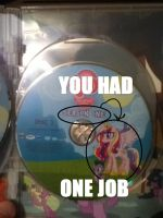 YOU HAD ONE JOB (MLP) by RamenWolf1485