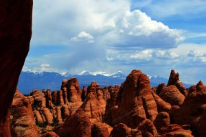 Fins and Mountains by Delta406