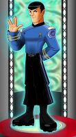 Mr.Spock by TonyForever