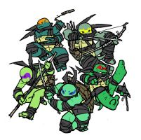 TMNT: Secrets of the Ooze by mooncalfe